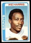 1978 Topps #367  Ike Harris  Front Thumbnail