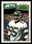1987 Topps #132  Wesley Walker  Front Thumbnail