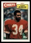 1987 Topps #170  Lloyd Burruss  Front Thumbnail