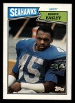 1987 Topps #183  Kenny Easley  Front Thumbnail