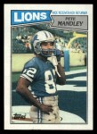 1987 Topps #323  Pete Mandley  Front Thumbnail