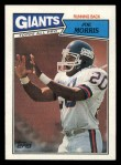 1987 Topps #11  Joe Morris  Front Thumbnail