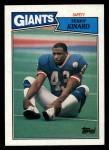 1987 Topps #27  Terry Kinard  Front Thumbnail