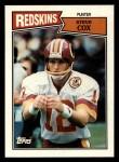 1987 Topps #71  Steve Cox  Front Thumbnail