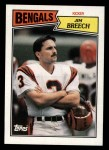 1987 Topps #191  Jim Breech  Front Thumbnail
