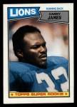 1987 Topps #320  Garry James  Front Thumbnail