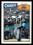 1987 Topps #349  Gill Byrd  Front Thumbnail