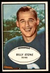 1953 Bowman #29  Billy Stone  Front Thumbnail
