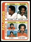 1978 Topps #501   Falcons Leaders Checklist Front Thumbnail