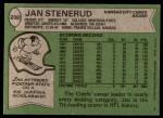 1978 Topps #238  Jan Stenerud  Back Thumbnail
