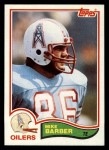 1982 Topps #93  Mike Barber  Front Thumbnail