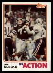 1982 Topps #172   -  Joe Klecko In Action Front Thumbnail