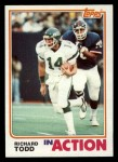 1982 Topps #182   -  Richard Todd In Action Front Thumbnail