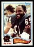 1982 Topps #298  Noah Jackson  Front Thumbnail