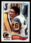 1982 Topps #385  Wendell Tyler  Front Thumbnail