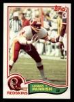1982 Topps #519  Lemar Parrish  Front Thumbnail