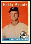 1958 Topps #419  Bobby Shantz  Front Thumbnail