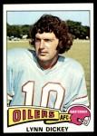 1975 Topps #243  Lynn Dickey  Front Thumbnail