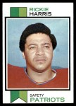 1973 Topps #496  Rickie Harris  Front Thumbnail