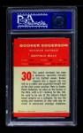1963 Fleer #30  Booker Edgerson  Back Thumbnail