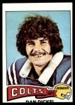 1975 Topps #476  Dan Dickel  Front Thumbnail