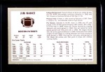 1970 Kellogg's #8  Jim Nance  Back Thumbnail