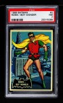 1966 Topps Batman Black Bat #2   Robin - Boy Wonder Front Thumbnail
