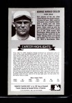 1972 Kellogg All Time Greats #5  George Sisler  Back Thumbnail