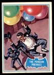 1966 Topps Batman Blue Bat Back #2   The Penguin Prevails Front Thumbnail