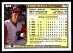 1999 Topps Traded #96 T Denny Neagle  Back Thumbnail
