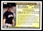1999 Topps Traded #31 T Tony Torcato  Back Thumbnail