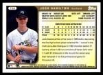 1999 Topps Traded #66 T Josh Hamilton  Back Thumbnail