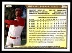 1999 Topps Traded #107 T Michael Tucker  Back Thumbnail