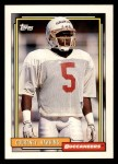 1992 Topps #675  Courtney Hawkins  Front Thumbnail