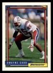 1992 Topps #698  Dwayne Sabb  Front Thumbnail