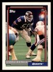1992 Topps #743  Carl Banks  Front Thumbnail