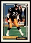 1992 Topps #757  Merril Hoge  Front Thumbnail