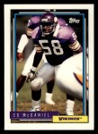 1992 Topps #683  Ed McDaniel  Front Thumbnail