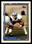 1992 Topps #83  Marc Spindler  Front Thumbnail