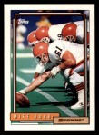 1992 Topps #119  Mike Baab  Front Thumbnail