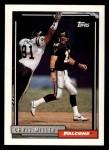 1992 Topps #156  Chris Miller  Front Thumbnail