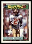 1992 Topps #303  Terrell Buckley  Front Thumbnail