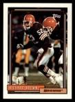1992 Topps #358  Richard Brown  Front Thumbnail