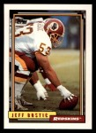 1992 Topps #402  Jeff Bostic  Front Thumbnail