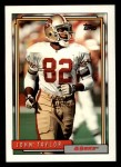 1992 Topps #430  John Taylor  Front Thumbnail