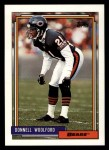 1992 Topps #431  Donnell Woolford  Front Thumbnail