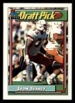 1992 Topps #498  Leon Searcy  Front Thumbnail