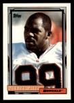 1992 Topps #594  Alonzo Mitz  Front Thumbnail