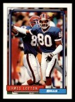 1992 Topps #633  James Lofton  Front Thumbnail