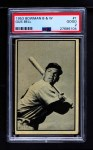 1953 Bowman B&W #1  Gus Bell  Front Thumbnail
